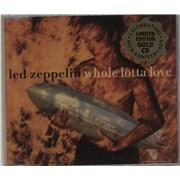 Led Zeppelin Whole Lotta Love - Gold Edition CD Australia CD single