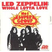 """Led Zeppelin Whole Lotta Love France 7"""" vinyl"""