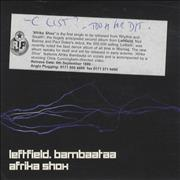 Click here for more info about 'Leftfield - Afrika Shox'