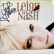 Click here for more info about 'Leigh Nash - Blue On Blue - Autographed'
