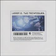 Click here for more info about 'Lemon D - Two Techniques'