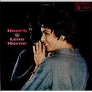 Click here for more info about 'Lena Horne - Here's Lena Horne'