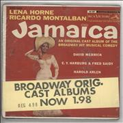 Click here for more info about 'Lena Horne - Jamaica 3 x 7