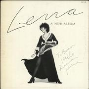 Click here for more info about 'Lena, A New Album - Autographed'