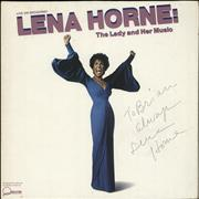 Click here for more info about 'Lena Horne - The Lady And Her Music/ Live On Broadway - Autographed'