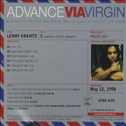 Click here for more info about 'Lenny Kravitz - 5 Sampler'