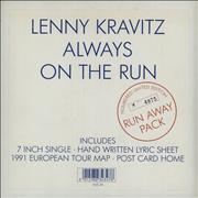 Click here for more info about 'Lenny Kravitz - Always On The Run - Run Away Pack'