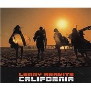 Click here for more info about 'Lenny Kravitz - California - Orange Vinyl'