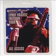 Click here for more info about 'Lenny Kravitz - Freedom Tour All Access Backstage Pass'