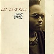 Click here for more info about 'Lenny Kravitz - Let Love Rule - 1st Issue'