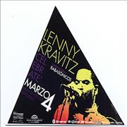 Click here for more info about 'Lenny Kravitz - Marzo 4 - Handbill stickers'