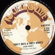 Click here for more info about 'Leon Hyatt - Forty Days & Forty Nights'