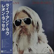 Click here for more info about 'Leon Russell - Life And Love + Obi'