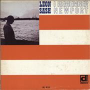 Click here for more info about 'Leon Sash - I Remember Newport'