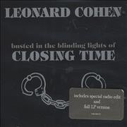 Click here for more info about 'Leonard Cohen - Closing Time'