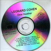 Click here for more info about 'Leonard Cohen - Dear Heather'