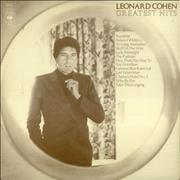 Click here for more info about 'Leonard Cohen - Greatest Hits + Insert'