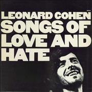 Click here for more info about 'Leonard Cohen - Songs Of Love And Hate - 1st'
