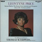 Click here for more info about 'Leontyne Price - Two Scenes From Antony And Cleopatra / Knoxville: Summer Of 1915'