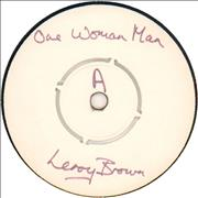 Click here for more info about 'Leroy Brown - One Woman Man - Test Pressing'