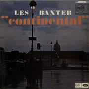 Les Baxter Continental UK vinyl LP