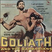 Les Baxter Goliath And The Barbarians USA vinyl LP