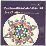 """Les Baxter Kaleidoscope UK 10"""" vinyl"""