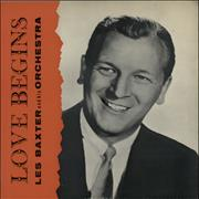 Les Baxter Love Begins UK vinyl LP