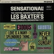 Les Baxter Sensational! - Factory Sample UK vinyl LP