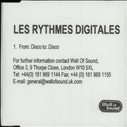 Click here for more info about 'Les Rythmes Digitales - From: Disco To: Disco'