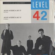 "Level 42 Algo Acerca De Ti - Something About You Mexico 12"" vinyl"