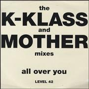 Click here for more info about 'Level 42 - All Over You - Double Pack'