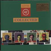 Click here for more info about 'Level 42 - Collected - 180gram Green Vinyl + Sealed Numbered Sleeve'