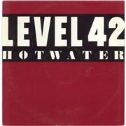 """Level 42 Hot Water UK 12"""" vinyl"""