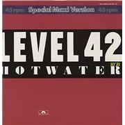 "Level 42 Hot Water Germany 12"" vinyl"