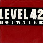 Click here for more info about 'Level 42 - Hot Water'