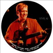 Click here for more info about 'Level 42 - Interview Picture Disc'