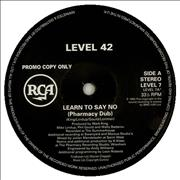 Click here for more info about 'Level 42 - Learn To Say No'