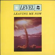 Click here for more info about 'Level 42 - Leaving Me Now - Paper Labels'