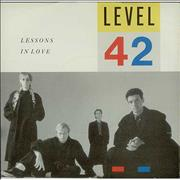 Click here for more info about 'Level 42 - Lessons In Love'