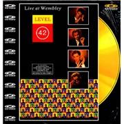 Level 42 Live At Wembley UK laserdisc