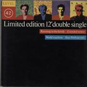 Click here for more info about 'Level 42 - Running In The Family - 2 x 12