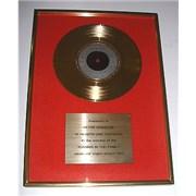 Level 42 Running In The Family UK award disc
