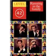 Level 42 Running In The Family USA cassette album