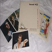 Click here for more info about 'Level 42 - Take A Look - Envelope Pack'