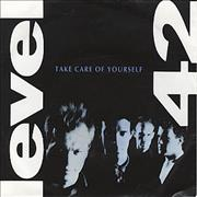 """Level 42 Take Care Of Yourself Germany 7"""" vinyl"""