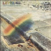 Click here for more info about 'Level 42 - The Pursuit Of Accidents + Lyric Inner & Merchandise Insert'