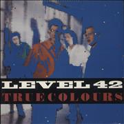 Click here for more info about 'Level 42 - True Colours + Merchandise Insert'