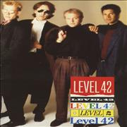Click here for more info about 'Level 42 - World Machine - Group Cover + ticket stub'