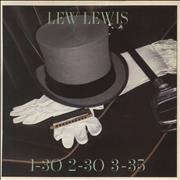 Click here for more info about 'Lew Lewis - 1-30 2-30 3-35'